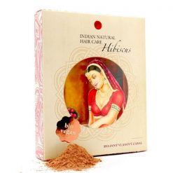 hibiscus pridavok do henny prirodny vlasovy zabal z byliniek Indian natural hair care prirodno