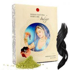 hneda cierna prirodna farba na vlasy indigo indian natural hair care prirodno