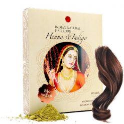 hneda prirodna farba na vlasy henna indigo Indian natural hair care prirodno