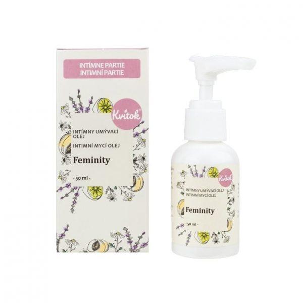 kvitok intimny umyvaci olej feminity prirodno