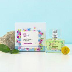 kvitok toaletny parfum parfem eau de parfum senes glamorous prirodno