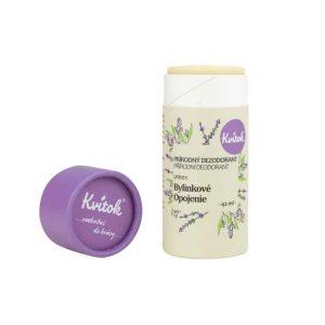 kvitok tuhy dezodorant bylinkove opojenie prirodno