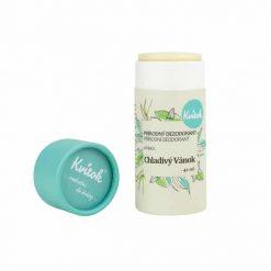kvitok tuhy dezodorant chladivy vanok prirodno