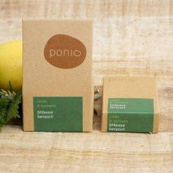 ponio zihlavovy sampuch citron a rozmarin na normalne a mastne vlasy prirodno