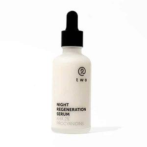 two nočne regeneracne serum s AHA kyselinami Night regeneration serum prirodno