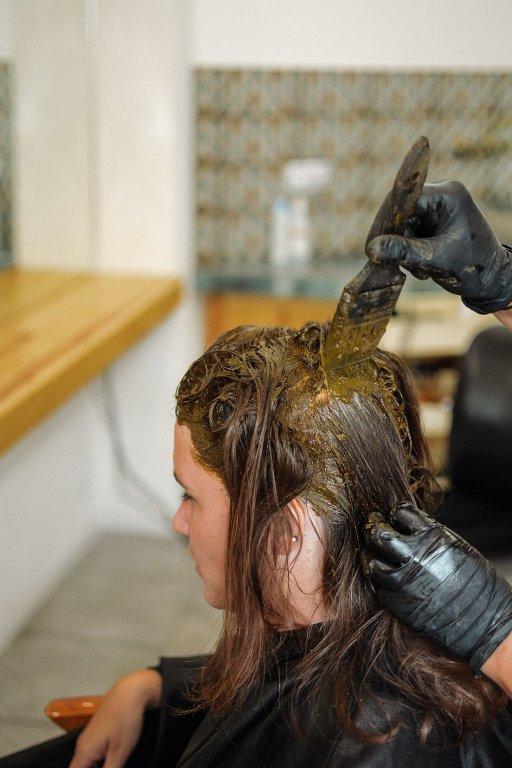 henna na vlasy prirodna farba aplikacia henny postup farbenia hennou prirodno