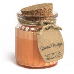 prirodna sojova sviecka koreneny pomaranc zimna vona prirodno