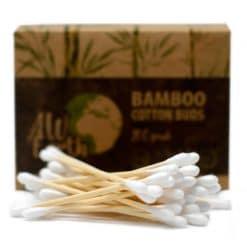 bambusove vatove tycinky do usi prirodno
