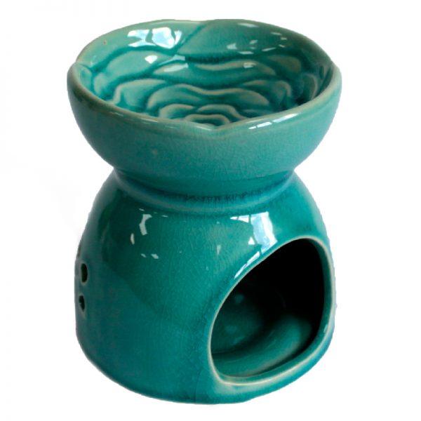 modra keramicka aromalampa strom zivota prirodno